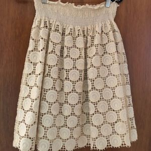 Miu Miu lace skirt